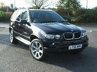 BMW X5 3.0D SPORT AUTOMATIC REGISTERED SEPT 2006 FOR SALE