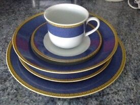 1 person porcelain dinner set