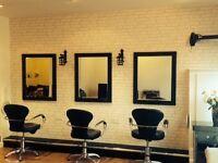 Rent a chair hair stylist