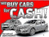 Cars Wanted!! We buy used cars!! Sell your car now!