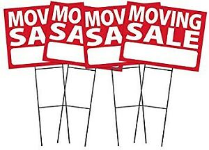 Moving sale Sunday August 19