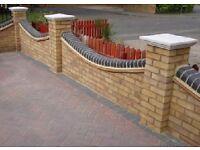 Garden walls fences, patios,kerbing paving