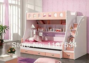Bunk Bed 3 in 1 Children's Bed With Storage