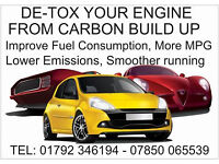 DETOX YOUR CAR ENGINE HYDROGEN CARBON CLEANING MOBILE WE COME TO YOU FROM £89.99 ALL MAKES + MODELS