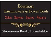 Lawnmower and Power Tool sales - service - spares - repairs