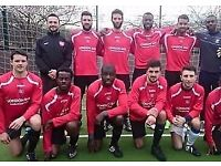 PLAYERS WANTED FOR NORTH LONDON FOOTBALL TEAMS