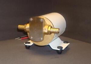 Boat marine 12v engine oil change gear pump 3 2 gpm for Outboard motor oil change pump