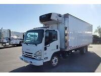 Isuzu NRR 20ft Refrigerated reefer truck npr nqr hino fuso ud nissan ford gmc ch
