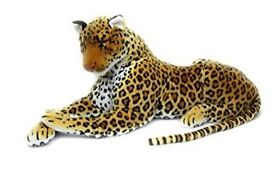 Giant Toy Leopard George needs a good home.