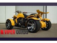 Viper 350F1 SuperSnake, Yellow, Road legal quad bikes, 2017, Spyracing F1