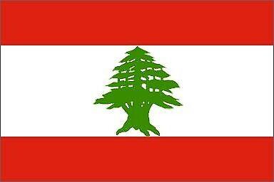 OUTBOUND Flag Of Lebanon 5x3