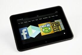 """Kindle Fire HD 7"""" 16GB (2013) WiFi Tablet & Case"""