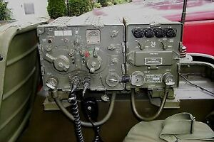 ISO: 60s and 70s military vehicle radio