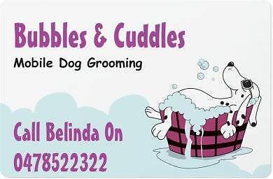 Bubbles And Cuddles Mobile Dog Grooming