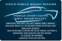 MICK'S MOBILE SMASH REPAIRS Maitland Maitland Area Preview