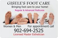 PEDICURES in the comfort of your own home! - Amherst, N.S
