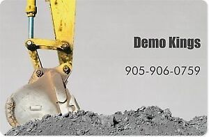 Demolition Specialist Cambridge Kitchener Area image 1