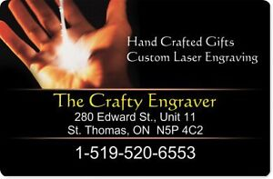 CUSTOM CO2 LASER ENGRAVING AND CUTTING