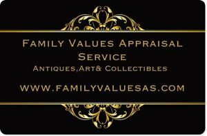 Downsizing? ....Antique Appraisals