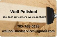 Well Polished Residential, Rental and Office Cleaning Services