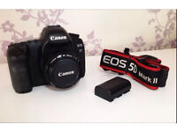 Canon 5D Mark II DSLR Camera Bundle