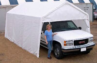 "Heavy Duty MULTI-PURPOSE SHELTER 11'6""W x 20'L x9'8""H"