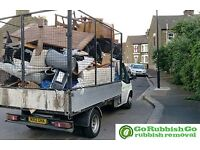Clearance man&van waste Rubbish tips garden house office sofa beds black bags wood renovation etc.