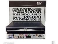 sky plus hd box 500gb