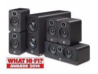 Q ACOUSTICS 2000i 5.0 Pack Home Cinema Speakers