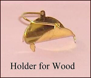 Vintage Fireplace Accessory Holder for Logs