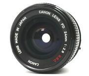 Canon FD 24mm