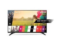 "New LG 49"" Smart LED 2016 Model warranty free delivery webos"