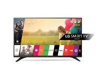 "Ex-Display LG 49"" Smart LED Tv 2016 Model warranty free delivery"