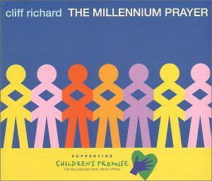 "CLIFF RICHARD ""THE MILLENNIUM PRAYER SINGLE CD"" NEW WRAPPED CD"