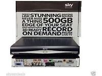 SKY HD BOX 500 GB BOXED only 4 weeks old