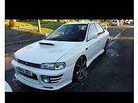 impreza turbo with ra 5th injector engine fitted registered as none turbo cheaper insurance