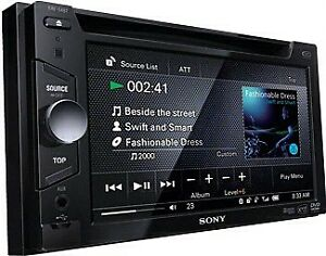 Sony XAV64BT 6.1-Inch Touch Screen Bluetooth AV Receiver with Dv
