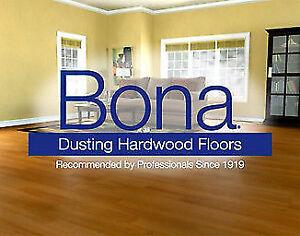 Sablage de plancher sans poussière Promotion Bona