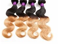 Brazilian Body Wave Virgin Human Hair Ombre 400g, 4 bundles
