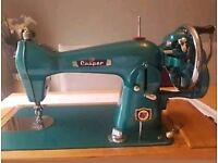 Beautiful rare vintage cooper hand crank sewing machine 1950-1960