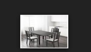 Bjursta Ikea Extendable dining table