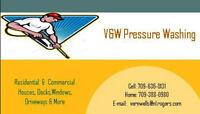 V & W Pressure Washing