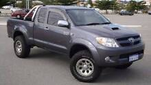 2008 Toyota Hilux SR5 4wd Extra Cab ONLY 92k's Hillarys Joondalup Area Preview