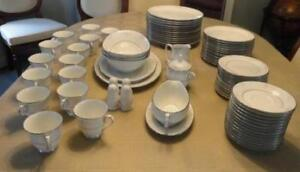 Noritake Fine China - 83 Pieces in MINT Condition.