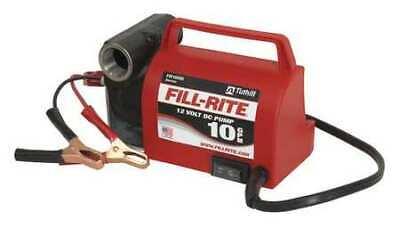 Fill-rite Fr1612 Fuel Transfer Pump 12vdc 10 Gpm 15 Hp Cast Iron 34 Npt