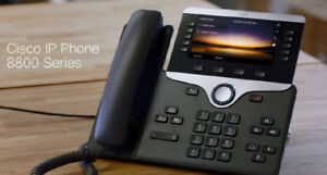 2 Cisco CP 8861 Executive IP Phones