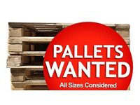 Old pallets wanted or reclaimed wood for project