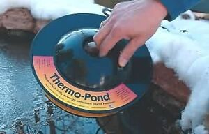 K&H 8001 Thermo-Pond Heater 3.0 Floating Pond 100-Watt De-icer