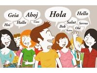 My Spanish for your English