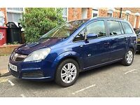 Well cared for Vauxhall Zafira 1.9 Cdti - Lady owner & long MOT